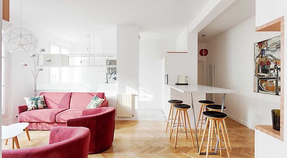 les enfants rouges architecte paris 18 me bardin architecte architecture int rieur paris. Black Bedroom Furniture Sets. Home Design Ideas