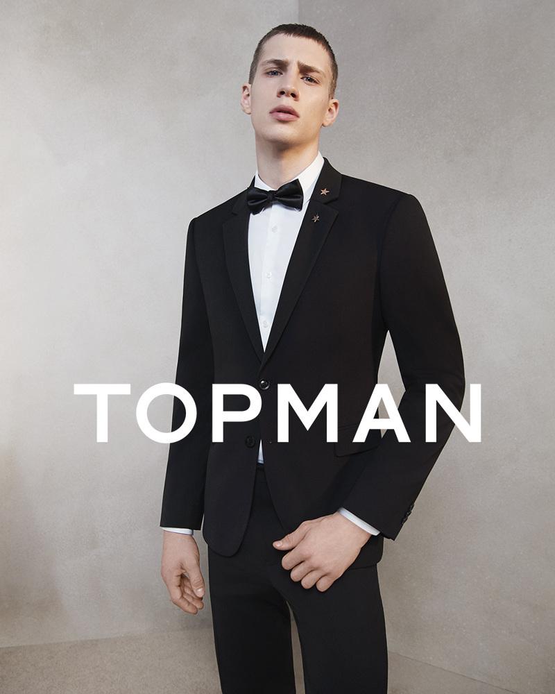 Topman SS17 Suit Campaign - Buzz White Studio